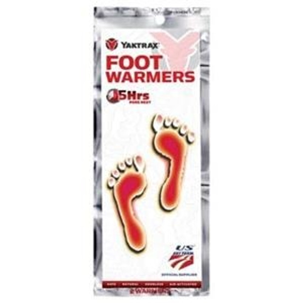Yaktrax Foot Warmer Insole Clear M/L