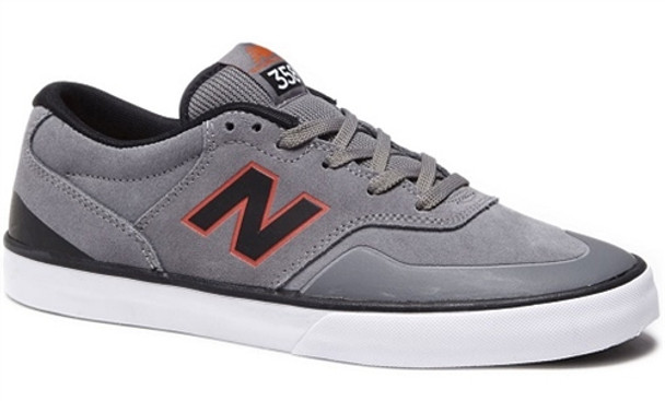6ffd173fb5c62 New Balance Arto Pro 358 Skate Shoes Grey Red | Boardparadise.com