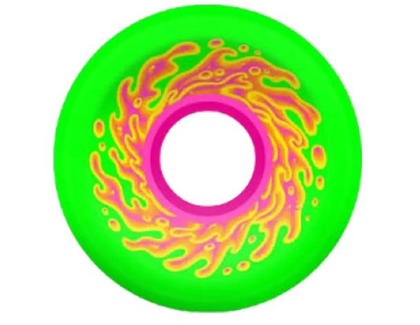 Slime Balls Mini OG Wheels Set Green Pink 54.5x78a