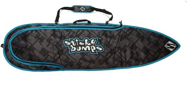 """Sticky Bumps Single Day Board Bag Black 7'6"""""""