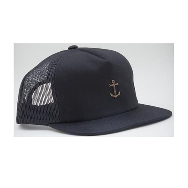 Dark Seas Bottomry Trucker Hat Black Snapback