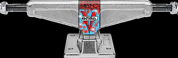 VENTURE SANTOSUOSSO HI 5.6 AWAKE POLISHED TRUCKS SET
