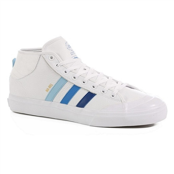 Adidas Matchcourt Mid Adv Na-Kel Ltd Shoes White Blue ... c980efad6