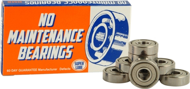 NMB BEARINGS SINGLE SET SILVER