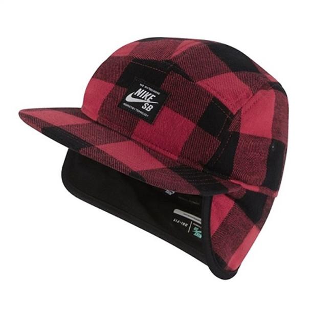 c89c540f Nike Sb Winter Camper Hat W/Earflap Red Black | Boardparadise.com