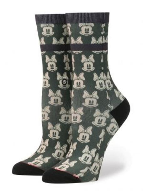 Stance Disney Mini Minnies Girls Socks Green M (11-1)