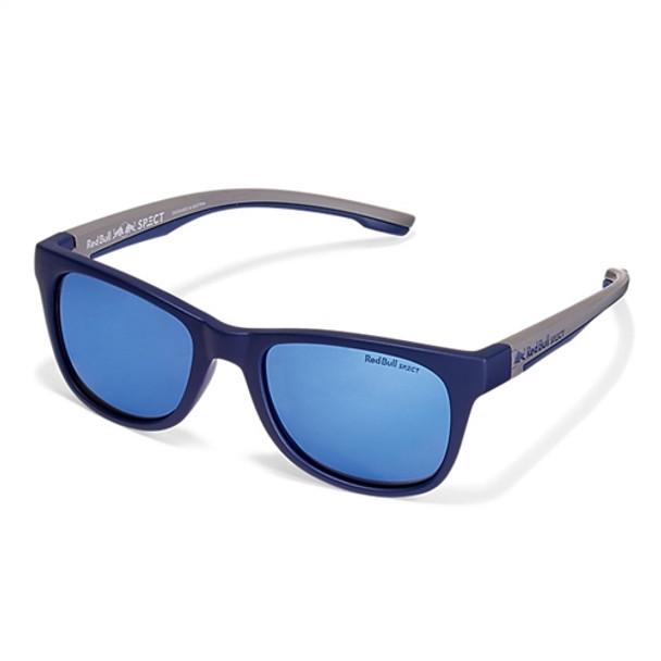 6cb329de8b5f Red Bull INDY Sunglasses Matt Dark Blue White Smoke Red Lens INDY-003