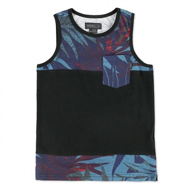 Oneill Fern and Burn Youth Tank Top Black