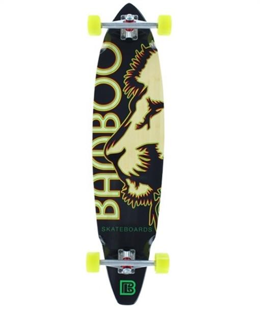 Bamboo Skateboards Battail Lined Up 9.25x31.5 Complete Longboard Skateboard