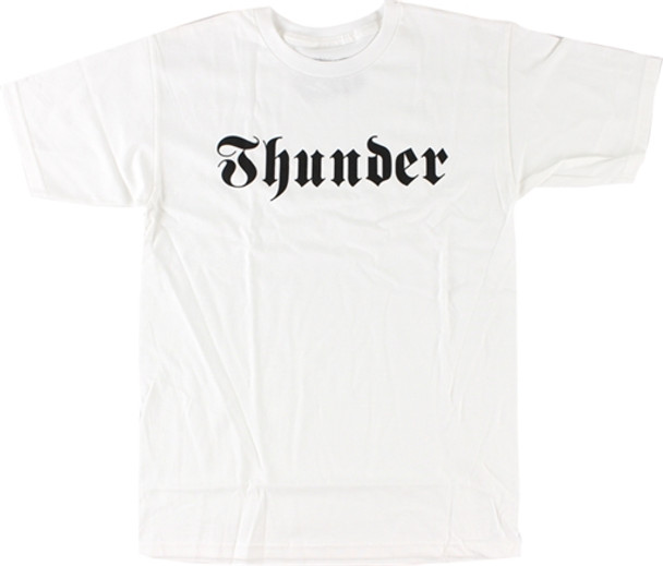 THUNDER EVIL SS TSHIRT XL-WHT/BLK