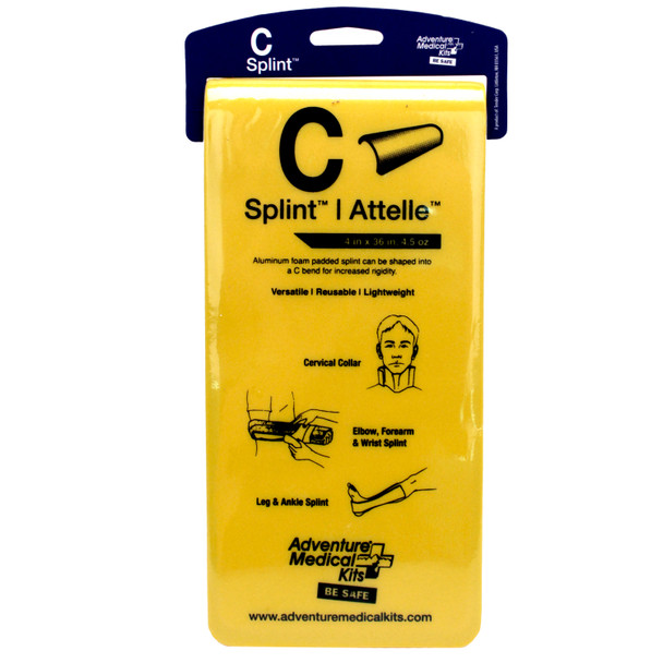 AMK C-Splint Yellow Blue Onesize
