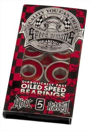 Speed Demon ABEC 5 Red Kugellager
