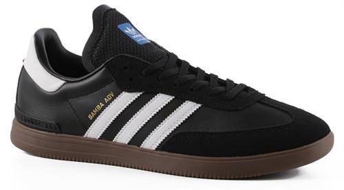 f66fdb056 Adidas Samba Adv Skate Shoes Black White Gum | Boardparadise.com