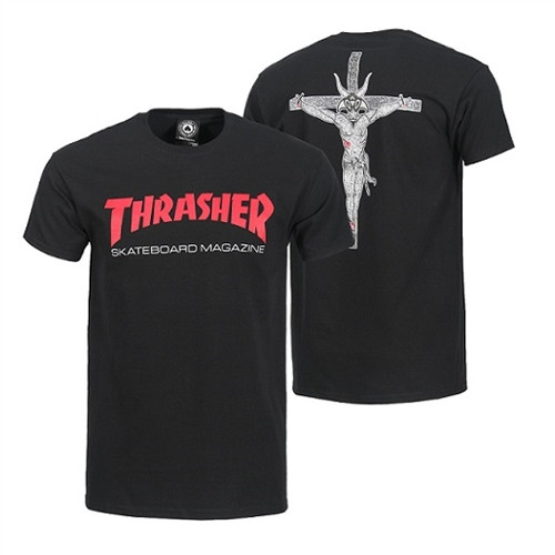 fede86921a16 Thrasher Resurrection Ss Tshirt Black