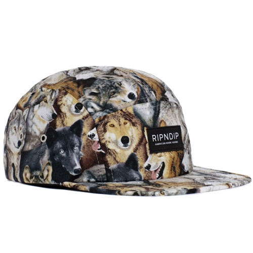 c3c3661e415 Rip N Dip Wolf Camp Hat Full Print