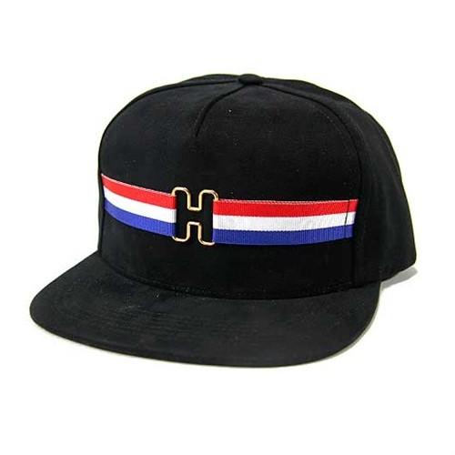 10da4ff81e1 Huf H-Ring Strapback Hat Black