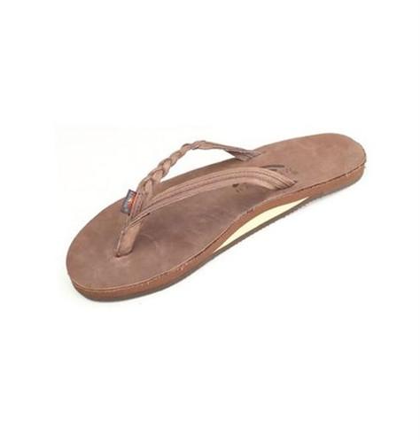 6b512217b8e Rainbow Sandals 301 Altsb Womens Braided Flirty Braidy Espresso ...