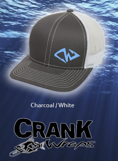 CW Charcoal / White Hat