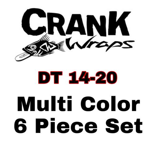 DT 14-20 Crankbait Baitfish 6 Piece Set