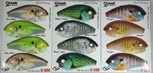 Crush 500 6th Sense Crankbait Baitfish 6 Piece Set