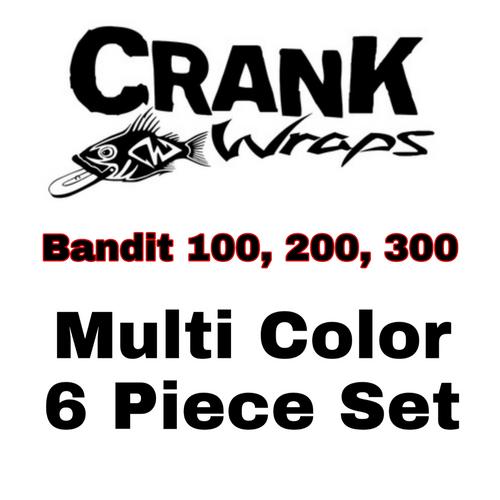 Bandit Series 100, 200, 300  Crankbait Baitfish 6 piece set
