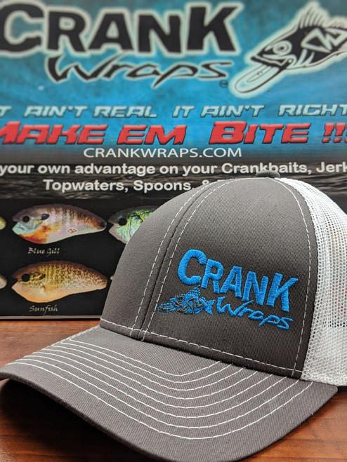 Crank Wraps Grey/White Hat