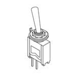 Mountain Switch 10TC412 Toggle Switches SPDT ON-OFF-ON Standard Lever