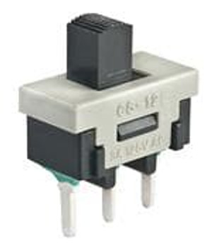 NKK Switches CS12ANW03 Slide Switches SPDT ON-NONE-ON 3A
