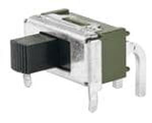 NKK Switches MS12ASW30 Slide Switches SPDT ON-NONE-ON R/A