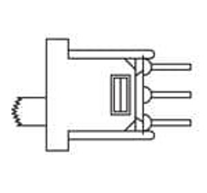 Mountain Switch 103-5000-EV Slide Switches ON-ON SPDT PC Mount