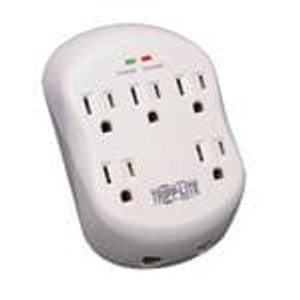 Tripp Lite SK5TEL-0 Power Outlet Strips Surge Protector Wall Mount Direct Plug In