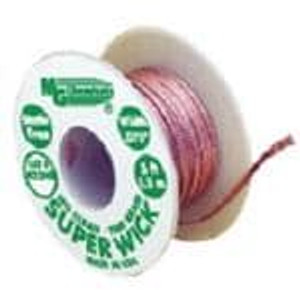 MG Chemicals 425-NS Desoldering Braid / Solder Removal SUPRWIK .075in WIDTH GREEN 5FT LENGTH NS