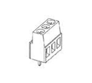 TE Connectivity 796949-2 Fixed Terminal Blocks 5.08MM VERTICAL 2P wire protector