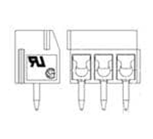 TE Connectivity / Buchanan 1-1776275-2 Fixed Terminal Blocks VERT TERM BLK SIDE Wire En