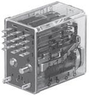 TE Connectivity / P&B R10-E2P4-V185 General Purpose Relays 4PDT 3A 12VDC 185Ohm GEN PURPOSE RELAY