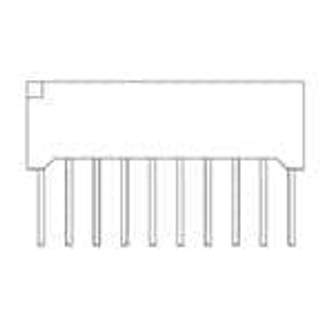 Lite-On LTA-1000Y LED Bars and Arrays 10 BAR Yellow