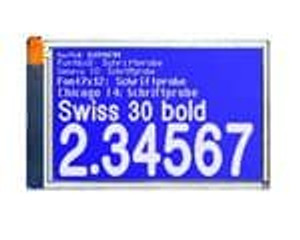 ELECTRONIC ASSEMBLY EA EDIP240B-7LW LCD Graphic Display Modules & Accessories Blue/White Contrast