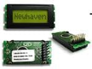 Newhaven Display NHD-0108BZ-RN-YBW LCD Character Display Modules & Accessories STN-Y/G Refl 53.0 x 24.2