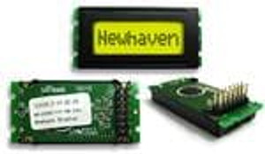 Newhaven Display NHD-0108BZ-FSY-YBW-33V3 LCD Character Display Modules & Accessories STN-Y/G Transfl 53.0 x 25.0
