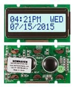 Newhaven Display NHD-0212WH-ATGH-JT# LCD Character Display Modules & Accessories STN-Gray Transfl 55.7 x 32.0