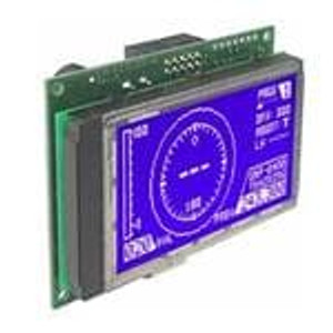 ELECTRONIC ASSEMBLY EA KIT129-6LWTK LCD Graphic Display Modules & Accessories Blue/White Contrast RS-232 Snap-In Kit
