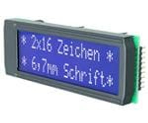ELECTRONIC ASSEMBLY EA DIP162-DN3LW LCD Character Display Modules & Accessories Black/White Contrast White LED Backlight