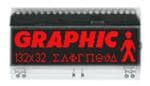 ELECTRONIC ASSEMBLY EA DOGM132S-5 LCD Graphic Display Modules & Accessories FSTN(-) Transmissive Black Background