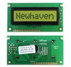 Newhaven Display NHD-0108FZ-RN-YBW LCD Character Display Modules & Accessories STN-Y/G Refl 84.0 x 44.0
