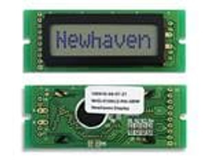 Newhaven Display NHD-0108CZ-RN-GBW LCD Character Display Modules & Accessories STN-GRAY Refl 69.0 x 27.0