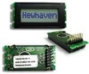 Newhaven Display NHD-0108BZ-RN-GBW LCD Character Display Modules & Accessories STN-GRAY Refl 53.0 x 24.2