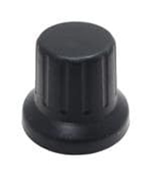 Eagle Plastic Devices 450-BA600 Knobs & Dials BLK 16mm D-SHAFT