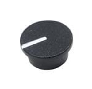 Eagle Plastic Devices 450-CP156 Knobs & Dials BLACK CAP 9mm