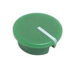 Eagle Plastic Devices 450-CP194 Knobs & Dials GREEN CAP 12.3mm