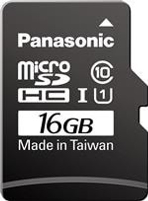 Panasonic RP-TMTC16DA1 Memory Cards 16GB 3D microSD Card Consumer+ TLC Model